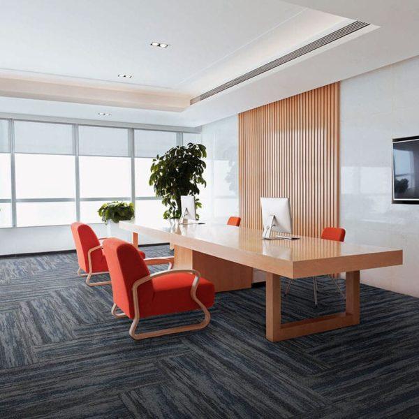 Our Premium Carpet Planks laid, style code PP-WP04
